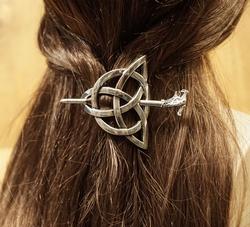"Haarspeld  "" Oneindige knoop """