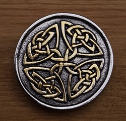 "Buckle  "" Celtic hart """