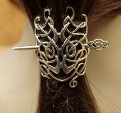 "Haarspeld  "" 2 Oneindige knoop """