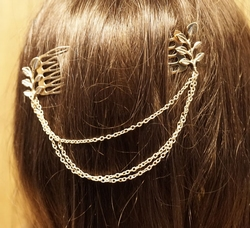 Haarkammen met ketting