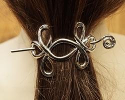 """Haarspeld met haarstokje  """" Celtic knot """""""
