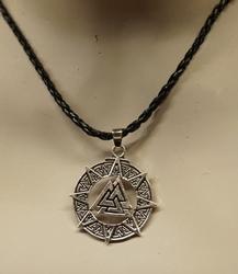 """Ketting  """" Keltisch symbool """"  zilverkleurig"""