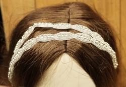 Haarlint met glitters