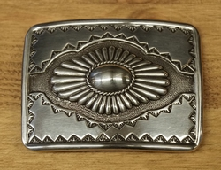 Sterling zilveren buckle