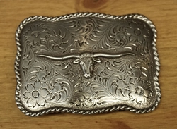 "Sterling zilveren buckle  "" Buffelo """
