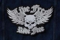 "Applicaties  "" Live free, ride free """