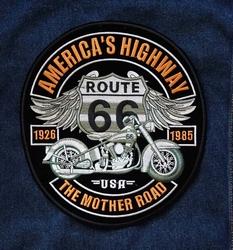 "Applicaties  "" America's highway route """