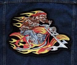 """Applicaties  """" Biker in de vlammen """""""