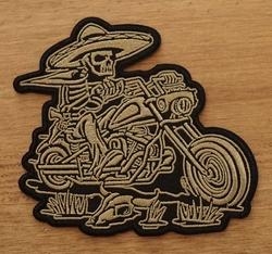 """Applicaties  """" Mexicaanse motorrijder  """""""
