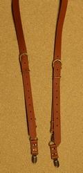 Pu leer bretels