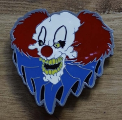 "Buckle / gesp "" Horror clown """