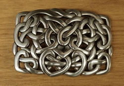 Sterling zilveren buckle / gesp