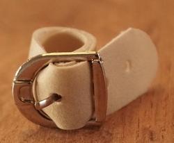Leren ring