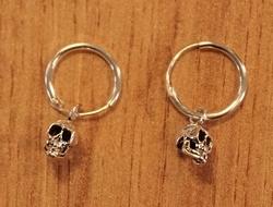 Zilveren oorringen