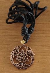 Bronzen ketting