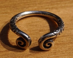 Stainless steel ringen
